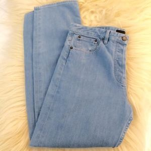 The Row Jeans - THE ROW Boyfriend Light Blue Wash Jean 8